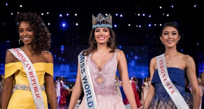 Eligen dominicana Yaritza Reyes vierreina Miss Mundo 2016