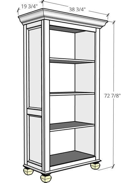 DIY Freestanding Tall Bookshelf - Spruc*d Market