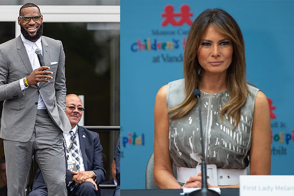 c28f6f227643 LeBron James  I PROMISE School Would Welcome Visit From First Lady Melania  Trump