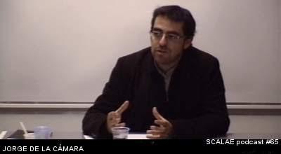Jorge Garcia de la Cámara en el Centro de Enlace AE BCN para SCALAE