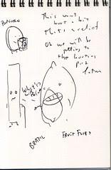 """Lost"" Sketchbook - page 5"