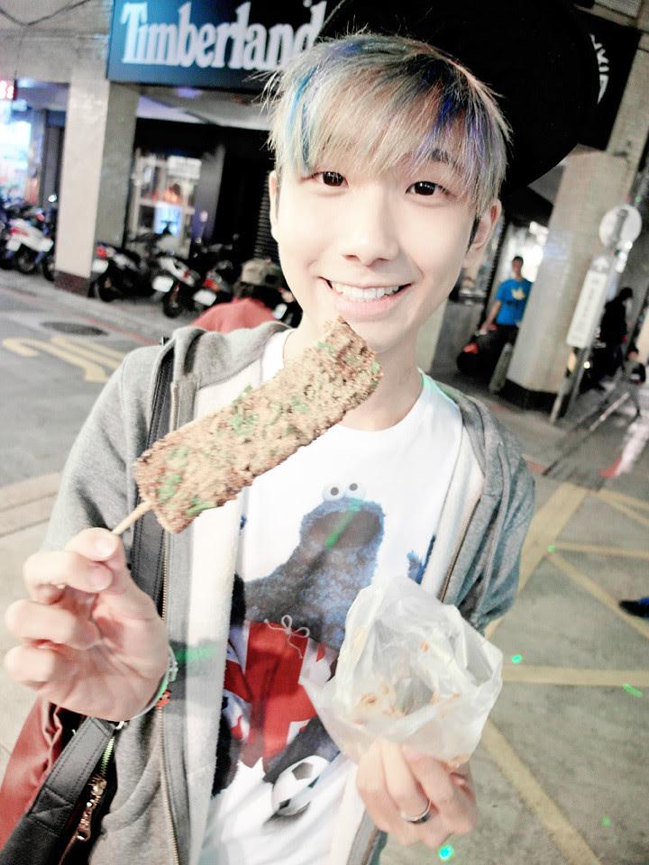typicalben with zhu xue gao (Pig Blood Cake)