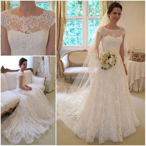 2013 New arrival vestidos de noivas vintage lace wedding