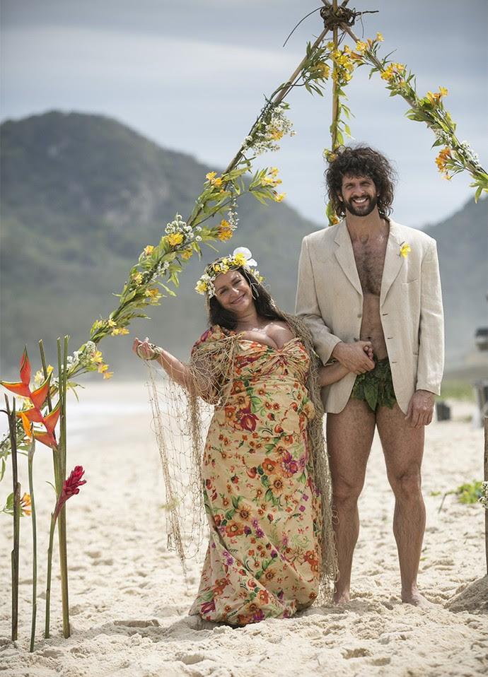 Teodora dirá 'sim' ao seu Tarzan (Foto: Raphael Dias/Gshow)