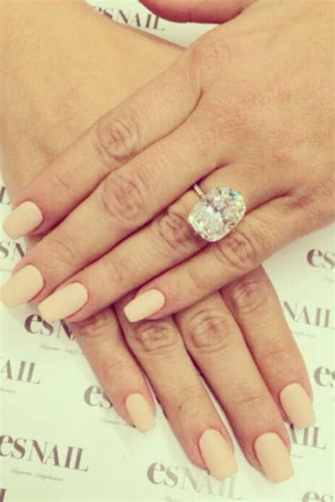 Kim Kardashian engagement ring & nails   Style   Pinterest