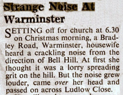 The Warminster Journal article from January, 1964 that started it all.