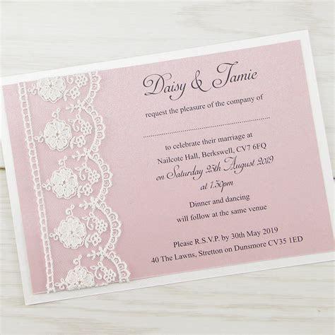 Elizabeth Wedding Invitation   Pure Invitation Wedding Invites
