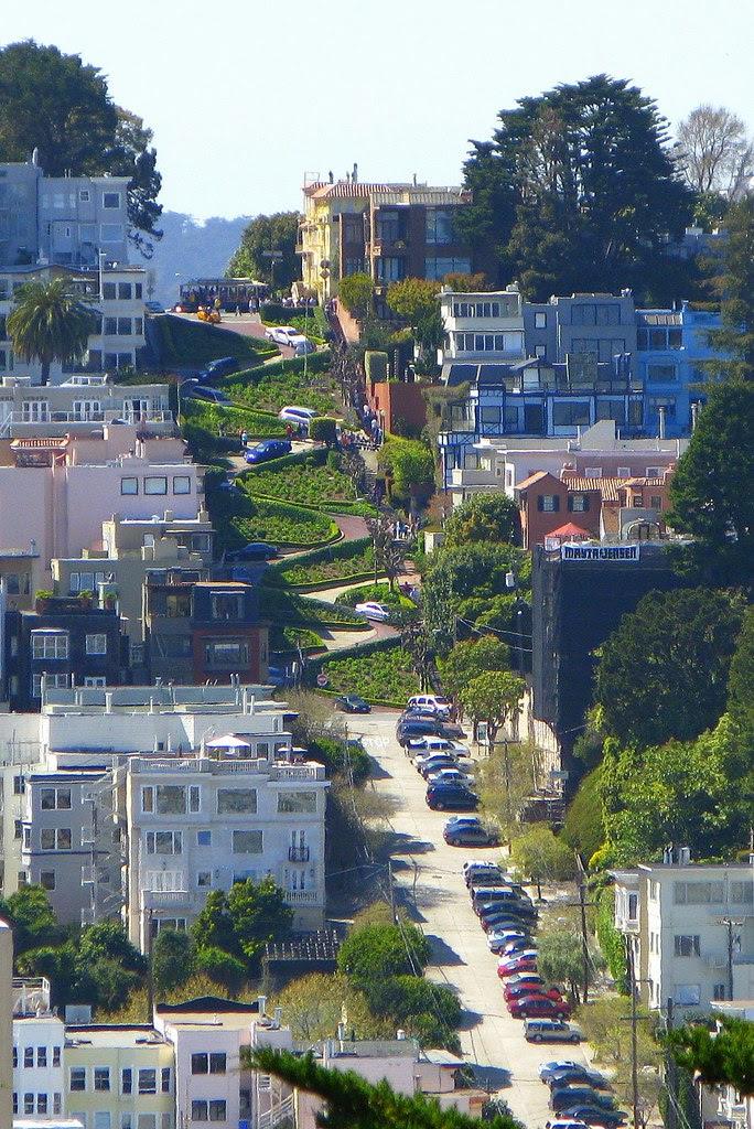 Lombard, a rua mais ventosa do mundo