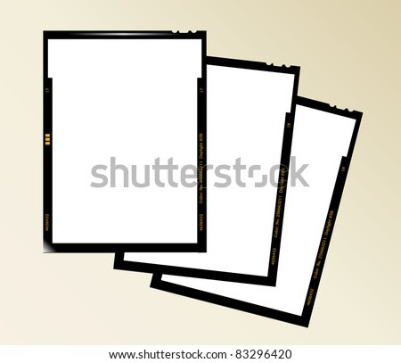 Large Format Film Sheet Negative Set 4 X 5 Inch, Blank Picture ...