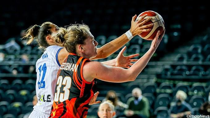 """Zo vierde Emma Meesseman EuroLeague-triomf: """"Uno spelen met tegenstanders"""""""
