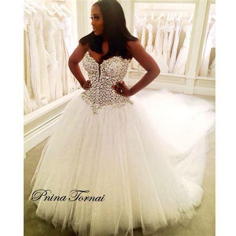 Our beautiful #PninaBride Yandy Smith.   Pnina Brides