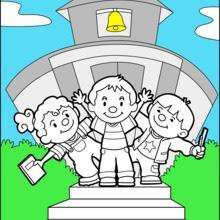 Dibujos Para Colorear Escuela Eshellokidscom