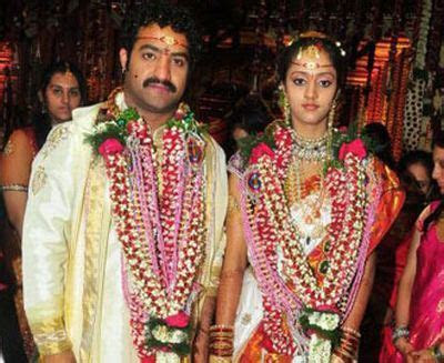 Jr. NTR marries Lakshmi Pranathi in Hyderabad   Wedding