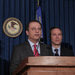 Preet Bharara, center, the U.S. attorney for the Southern District of New York, was joined by officials from the F.B.I and the S.E.C. to unseal the charges.