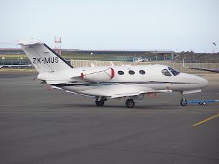 ZK-MUS Cessna C510 Mustang