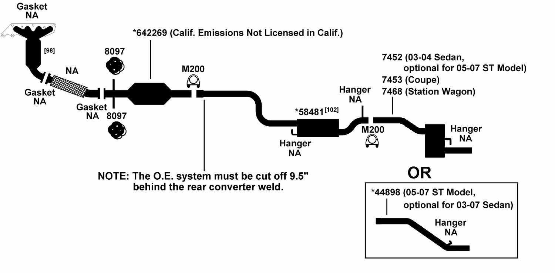 Download Schema Ford Taurus Exhaust Diagram Full Quality Dealsphuket Kinggo Fr