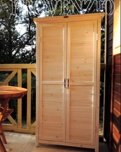 Casa moderna roma italy mobili legno esterno for Armadi da esterno