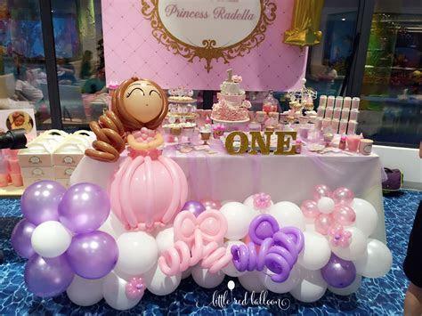 princess theme kids birthday party   Little Red Balloon