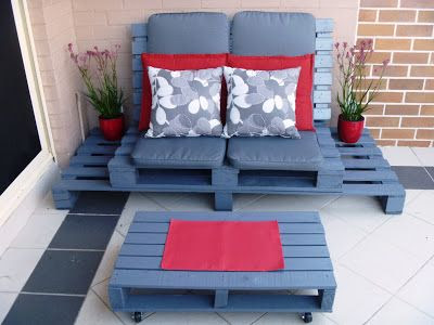Outdoor Chillout Lounge Chair.