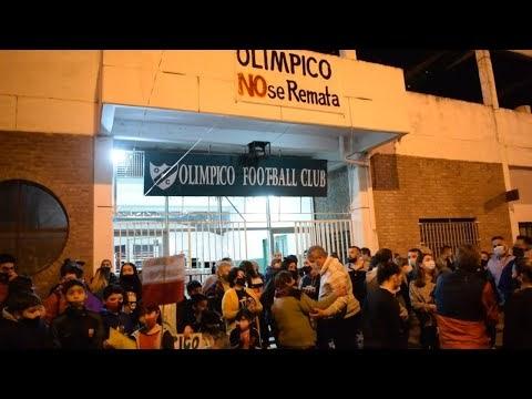 """""""No al Remate"""": Abrazo Solidario al Club Olimpico"""