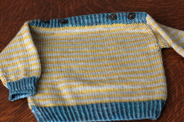 Blank Canvas infant sweater