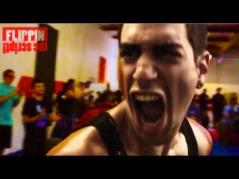 video que muestra una pelea de saltos