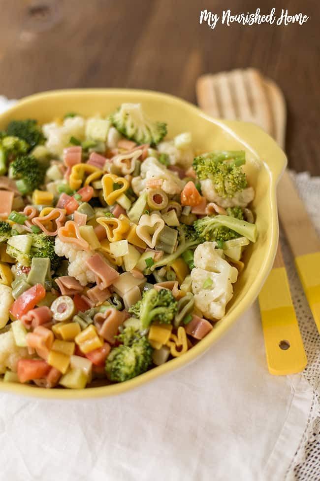 Simple Pasta Salad Recipe   My Nourished Home