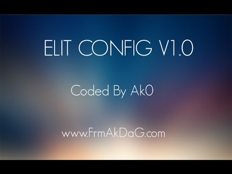 Elit Config v1.0 - Coded By Ak0 - RC Mode - Bunny CFG