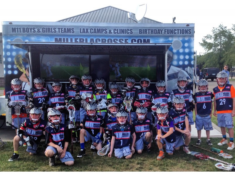 Local Lacrosse Company M|11 Miller Lacrosse Gearing up for the Lax Season