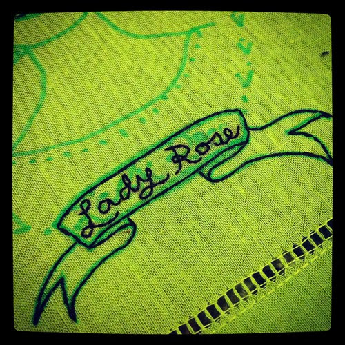 Lady Rose Downton Abbey Embroidery