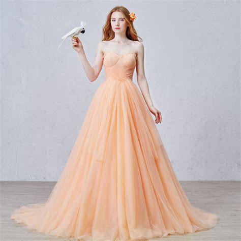 Online Buy Wholesale orange wedding dress from China