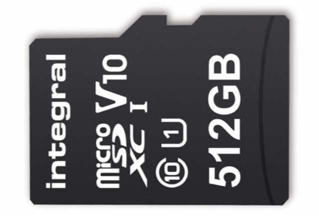 Integral New 512GB MicroSDXC Claimed The World's Highest MicroSD Card