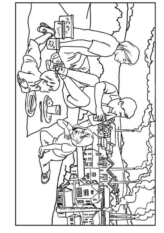 Dibujo Para Colorear Fábricas Contaminación Del Aire Img 7640