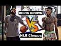 NLE Choppa Vs. Chris Brown!! Intense 3v3 Basketball Game!! - @Nlechoppa1 @chrisbrown