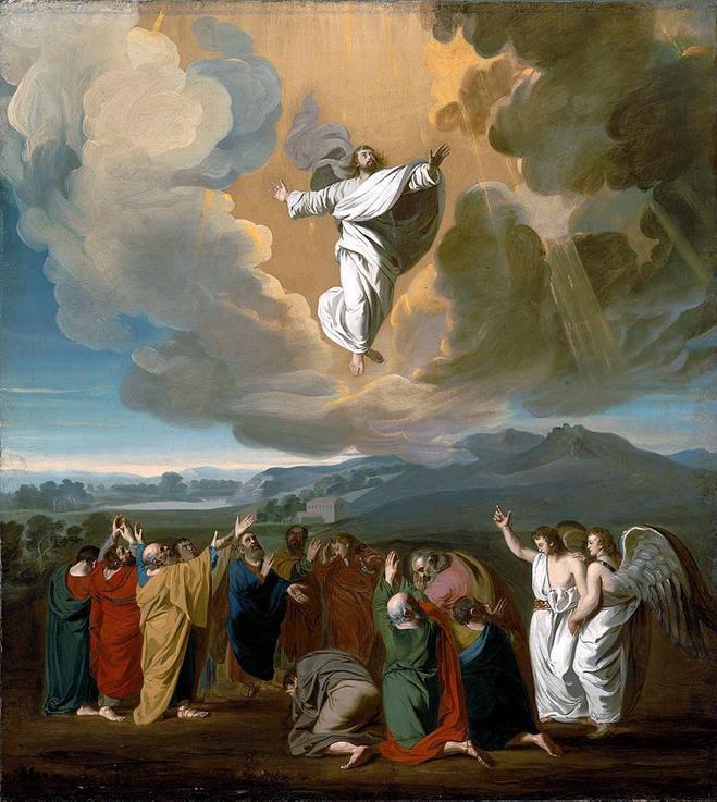 https://upload.wikimedia.org/wikipedia/commons/thumb/8/85/Jesus_ascending_to_heaven.jpg/915px-Jesus_ascending_to_heaven.jpg