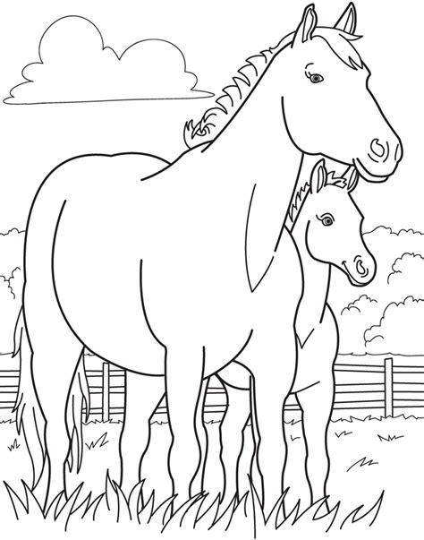 malvorlagen bibi und tina pferde  kostenlose malvorlagen