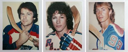 Warhol hockey polaroids