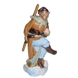 Monkey King - ceramic statue