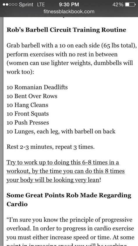 Barbell workout. #metabolismboost | Circuit training