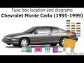 1995 Monte Carlo Fuse Box Diagram