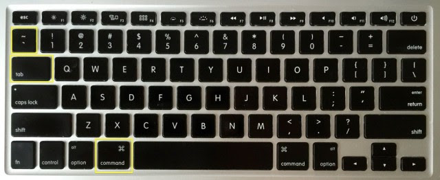 The application switcher is just a keystroke away. Photo: Rob LeFebvre