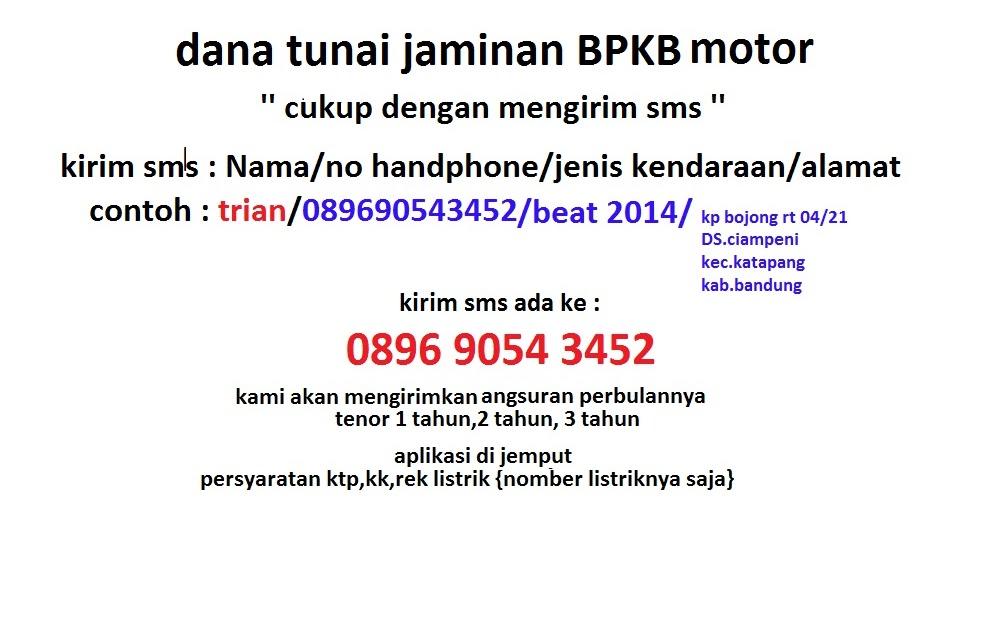 Syarat Gadai Bpkb Motor Di Bank Bri 2017