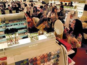 cosmetic stores in Europe