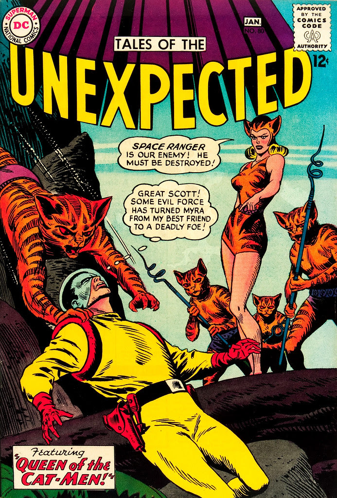 Tales of the Unexpected #80 (DC, 1964) Bob Brown cover.