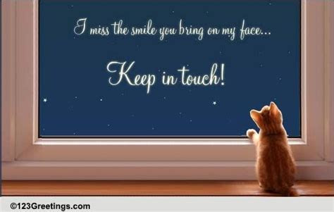 Missing You! Free Miss You eCards, Greeting Cards   123