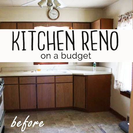 kitchen reno remodel on a budget