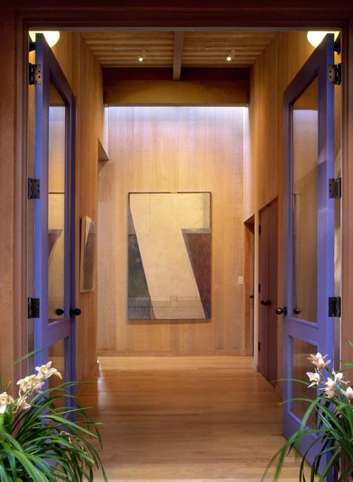 Marin County House contemporary entry