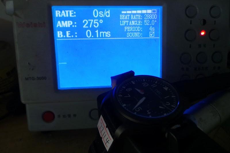 IWC 5019 Movement Test