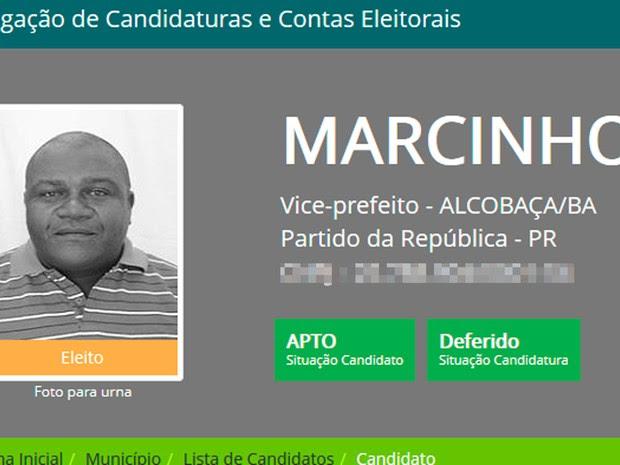 Vice-prefeito sofria de problemas cardíacos (Foto: Divulgação/DivulgaCand)