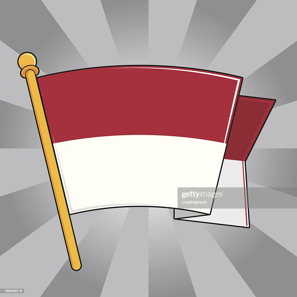Flag Of Indonesia Vector Art  Getty Images